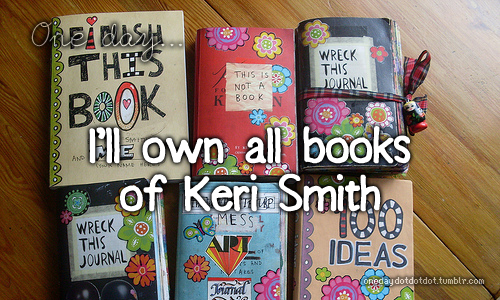 Book Cover Ideas We Heart It ~ Keri smith image by aaron s on favim