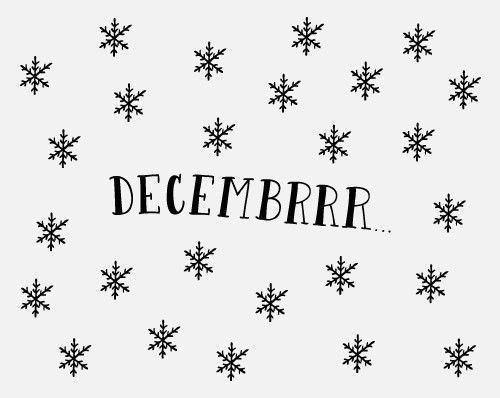 cold, snow and december. winter