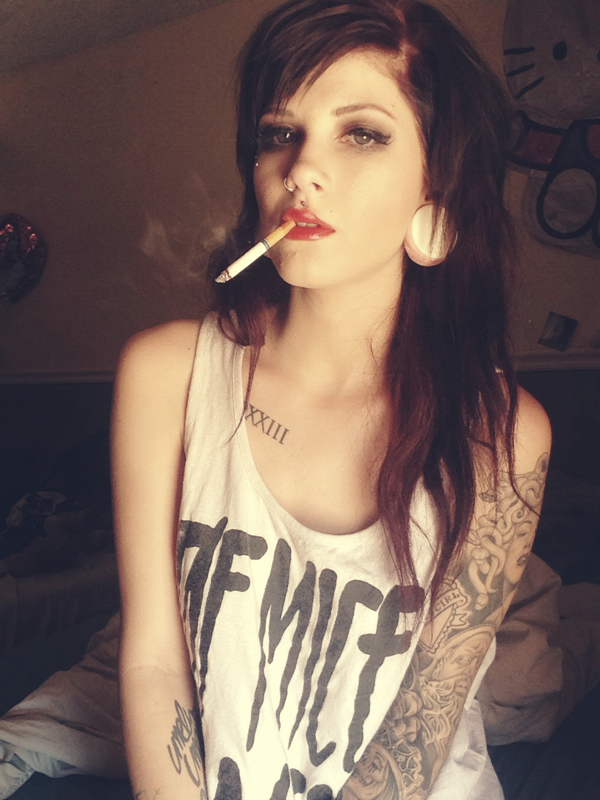 Consider, that Hot emo girls smoking weed apologise, but
