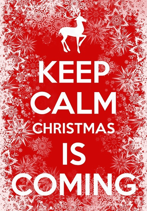 amazing, calm, christmas, december, funny, keep calm, red, santa, snow, snowflakes, true, white, winter