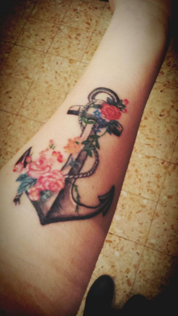 ⚓my anchor tattoo - image #1650662 by awesomeguy on Favim.com