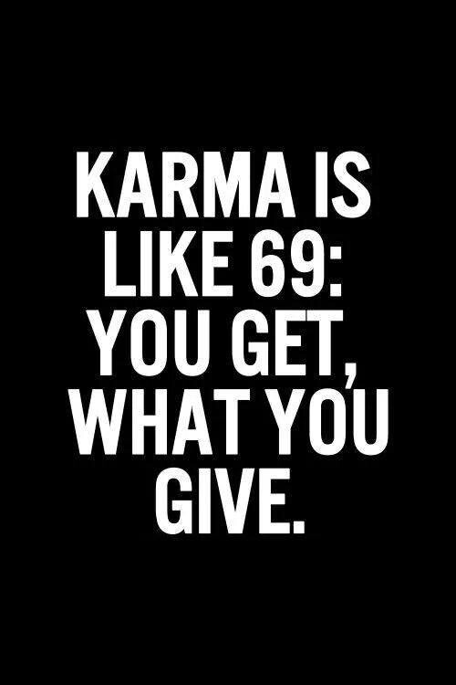 Karma see it - image #3133059 by winterkiss on Favim.com