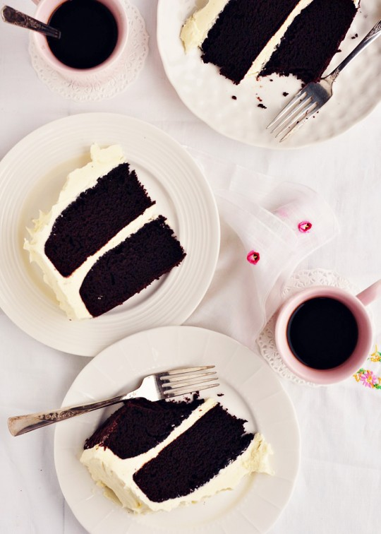Sweetapolita – Chocolate Stout Cake with Whipped Vanilla ...