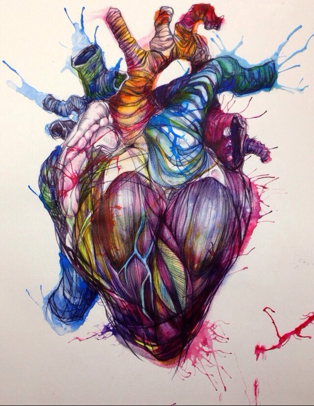 art, colorful, colors and drawing