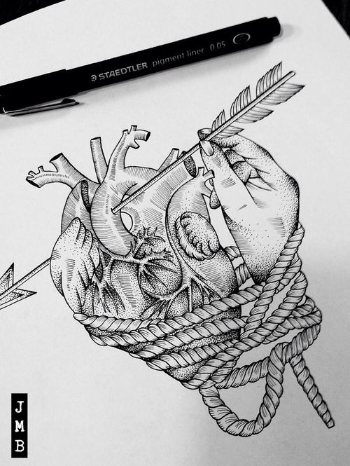 This modern love via tumblr image 1806290 by maria d for Things tattoo artists love