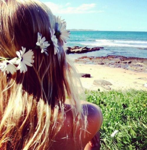 beach, summer, girl, beautiful, fashion, perfect, pretty, flowers