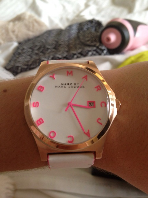 accessories, clock, fashion and girly