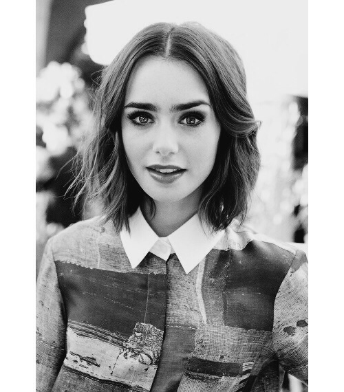 actrice, beautiful, brunette, celeb, eyebrows, girl, icon, lily collins