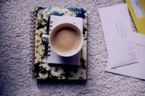 coffe, colors, fashion and flowers