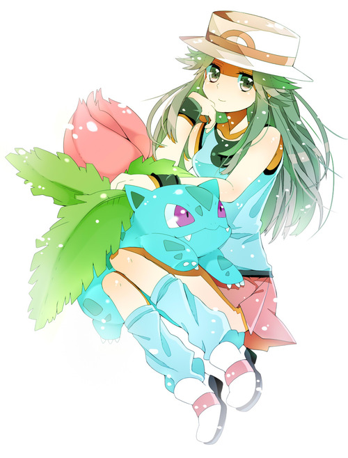 Tumblr Pokemon Leaf Fashion