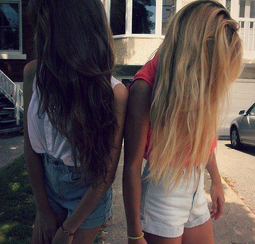 Party Brunette And Blonde Teen 93