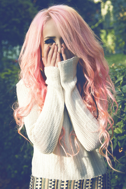 pink hair we heart it image 1925673 by dreamsofhopes