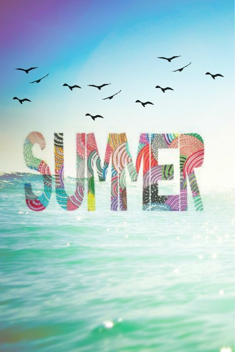 summer, happy, day, colorful, wonderland, cupe, sea, love