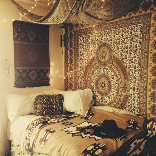 Hipster Bedroom: Image #1947953 By Taraa On Favim.com