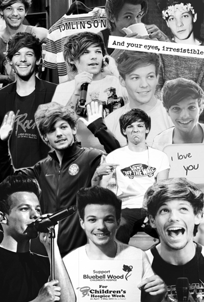 Louis Tomlinson Tumblr Collage