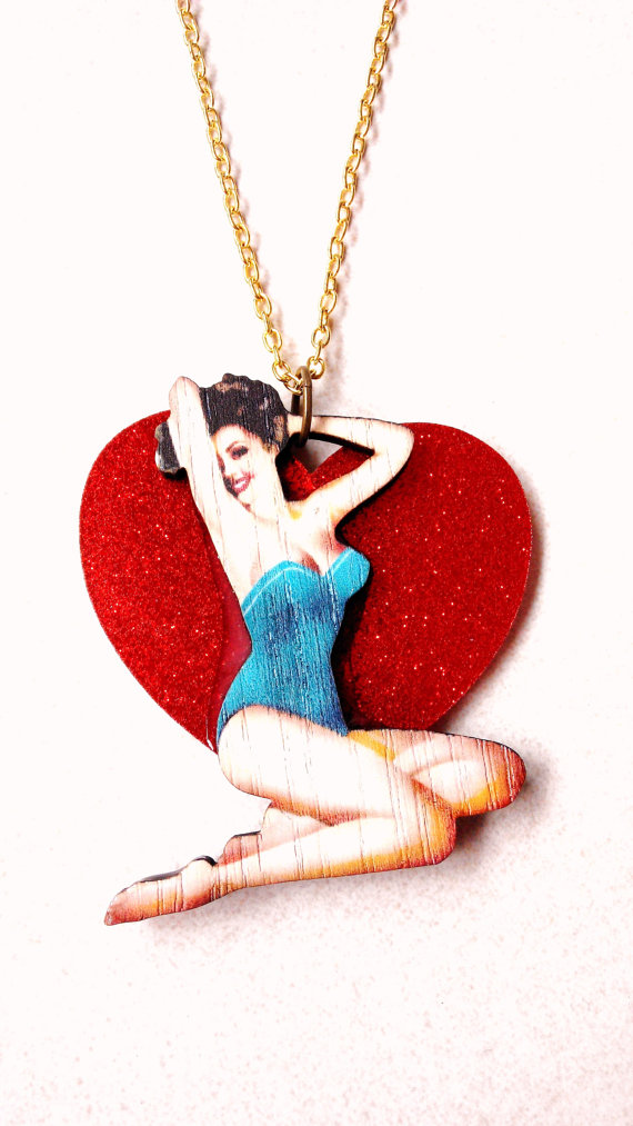 cute jewelry, girly jewelry, teens jewelry and pin-up girls jewelry