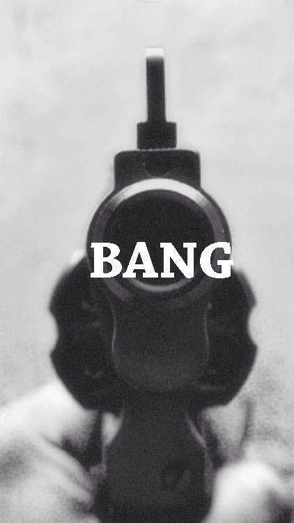 bang, bang bang, black and white, dead, death, gun, hipster, inspire, like, pistol, suicide, tumblr