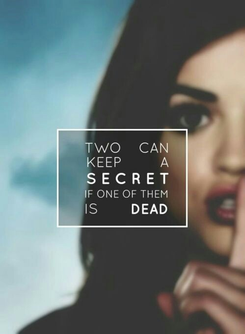 Two Can Keep A Secret If One Is Dead Book