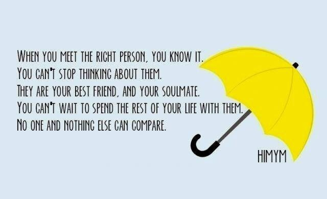 film, himym, love and quote