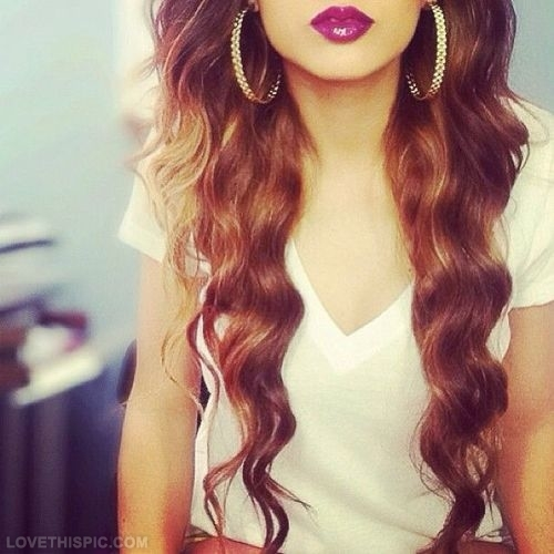 Girls With Long Curly Brown Hair Tumblr | www.imgkid.com ...