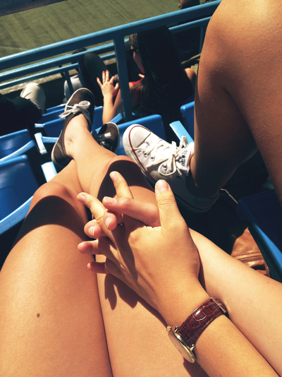 summer, boyfriend, hold hands and vans