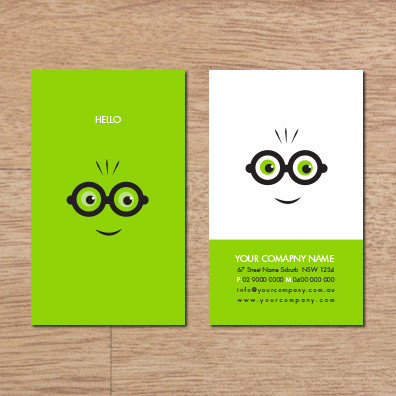 Business card design B from Brand In A image
