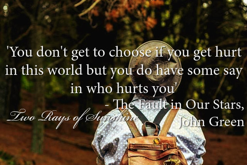Teenage Love Advice Quotes : , girl, hat, hazel grace, john green, life, love, quote, quotes, teen ...