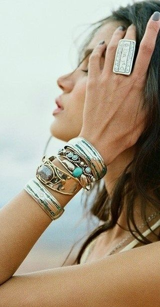 aztec, bohemian, boho, fashion, girl, hippie, style