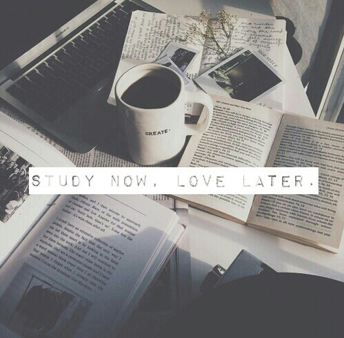 love, quote, study and studying