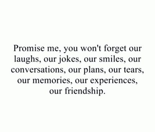 forget, forgotten, friend and friendship