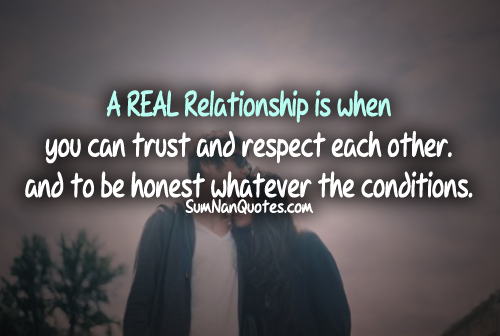 Quotes On Love And Trust Entrancing Quotes Love Respect Trust  Trust Respect Loyalty Quotes Quotesgram
