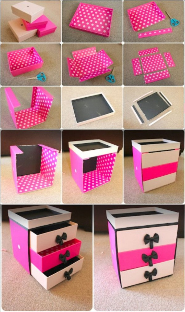 DIY Storage Box Idea 600 x 1007