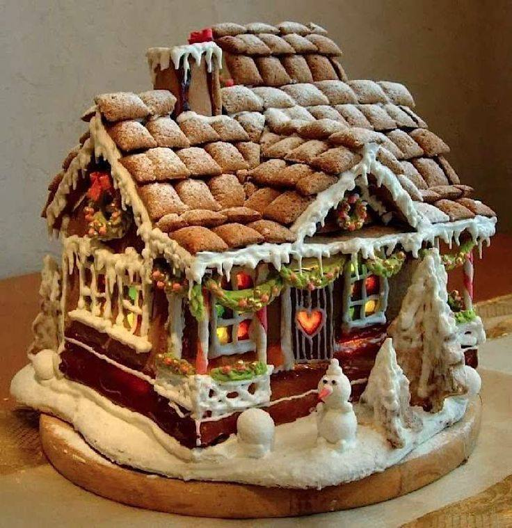 christmas, cookie, gingerbread and gingerbread house