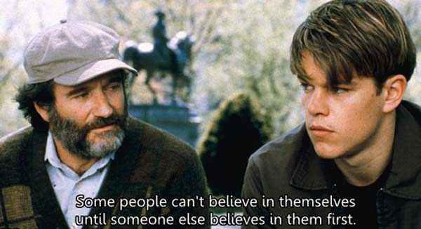 The 20 Best Quotes From Good Will Hunting Image 2298933