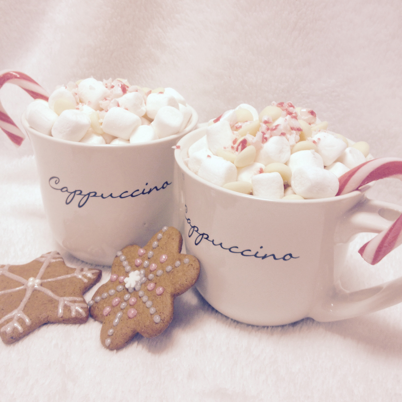 candycane, christmas, gingerbread and hotchocolate