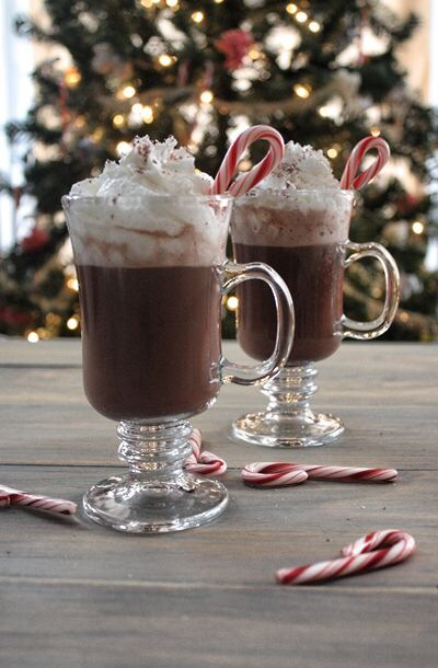 candycane, cocoa, drink and hot chocolate