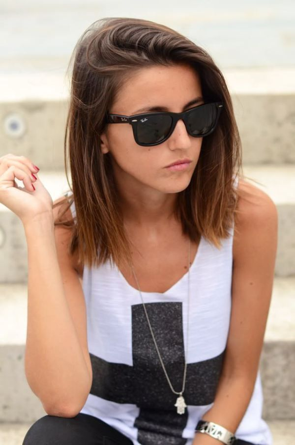 Hairstyle For Short Hair On Jeans : clothing, fashion, hair, hairstyle, model, outfits, short hair