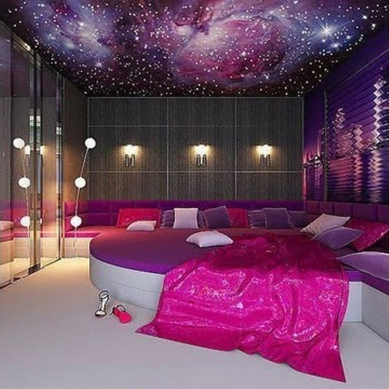 Pink Bedroom - image #2369333 by Maria_D on Favim.com