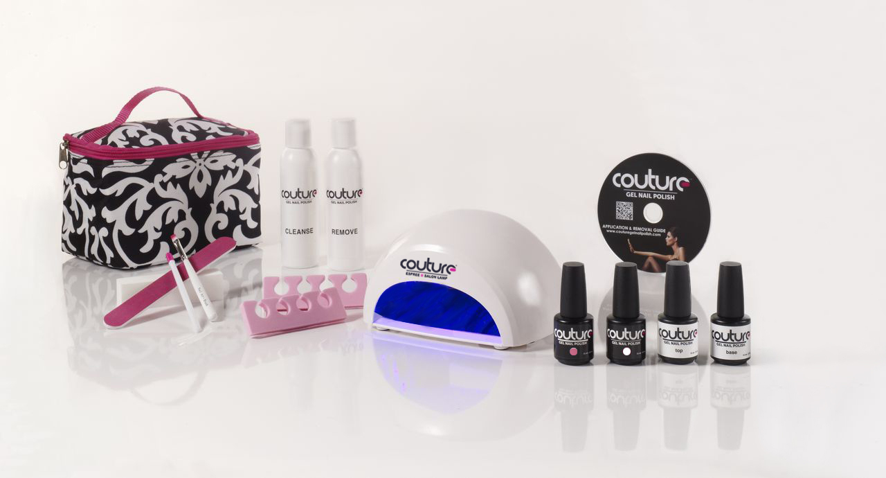 Couture Gel Nail Polish, Gel American Manicure, Gel Polish Lamps & Accessories and top quality gel nail kit