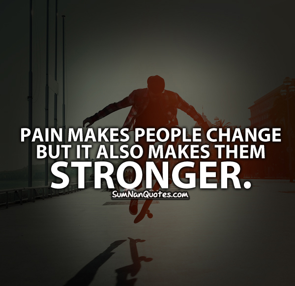 Pain And Life Quotes: Image #2467273 By
