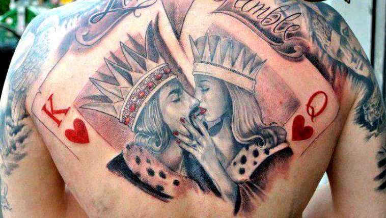 Tattoo King And Queen 13832 Image 2473123 By