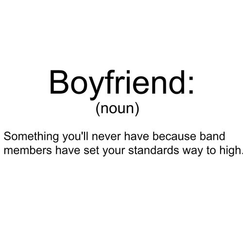 band members, bands, boyfriend and noun