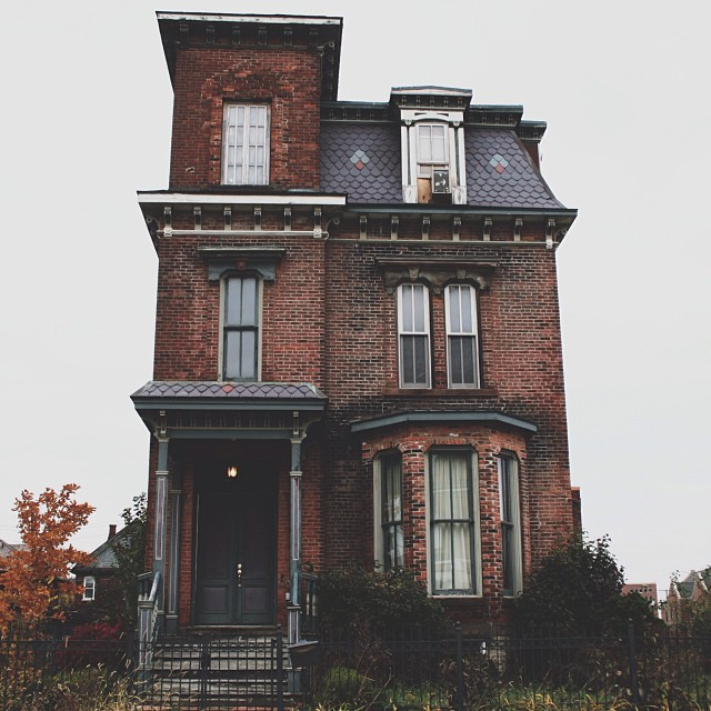 architecture, haunted, haunted house and house