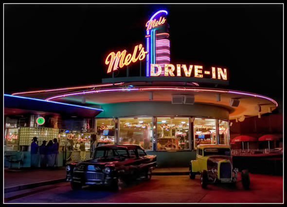 Drive in image 2518562 by lady d on for 50 s diner exterior