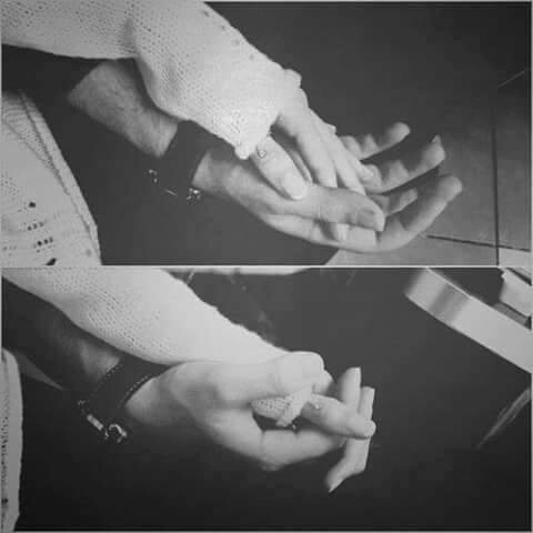 adorable, couple, cute, holding hands, love - image #2561553 by ...