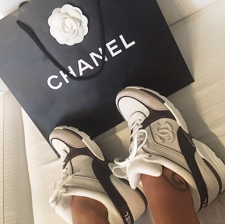 chanel, glamorous, luxury and casual shoes