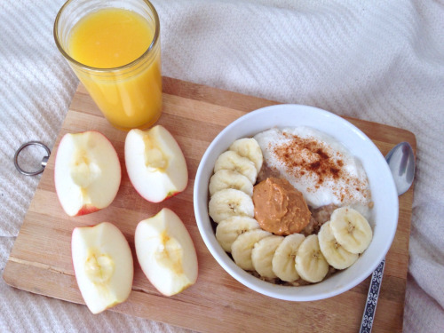 after school, apple, banana and bowl