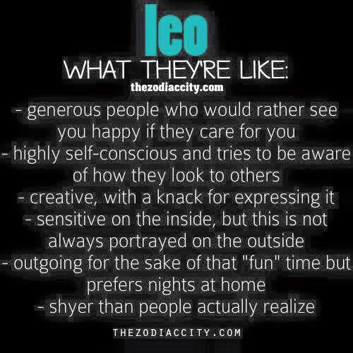 leo, signs and zodiac