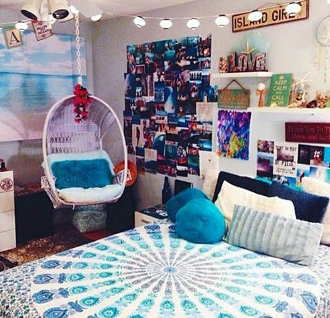 Cute decor room tumblr image 3656293 by saaabrina on - Cute teen room decor ...