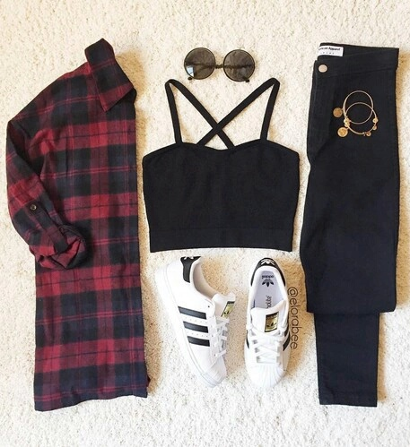 black, fashion, jeans and party